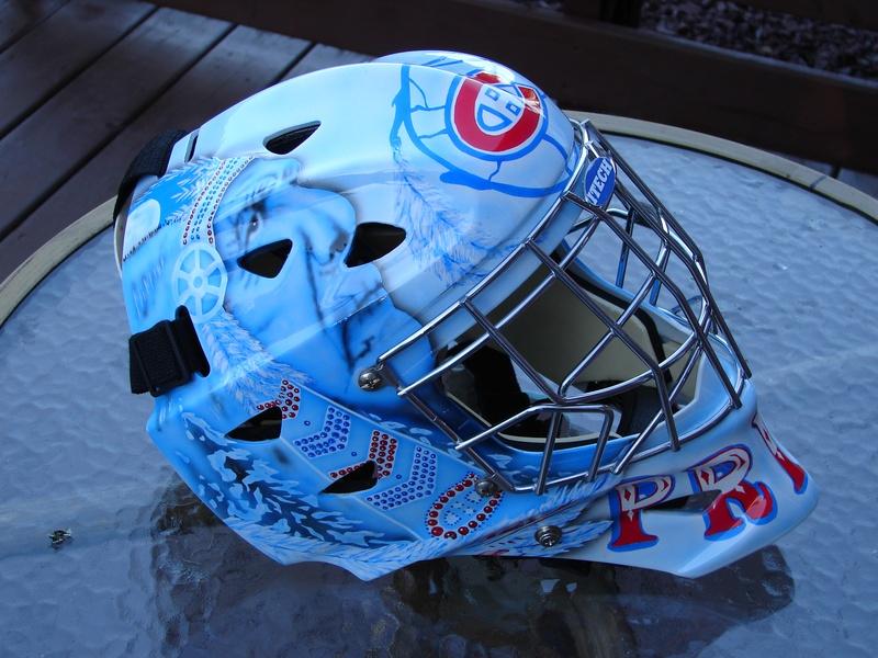Lucas Squibb's mask