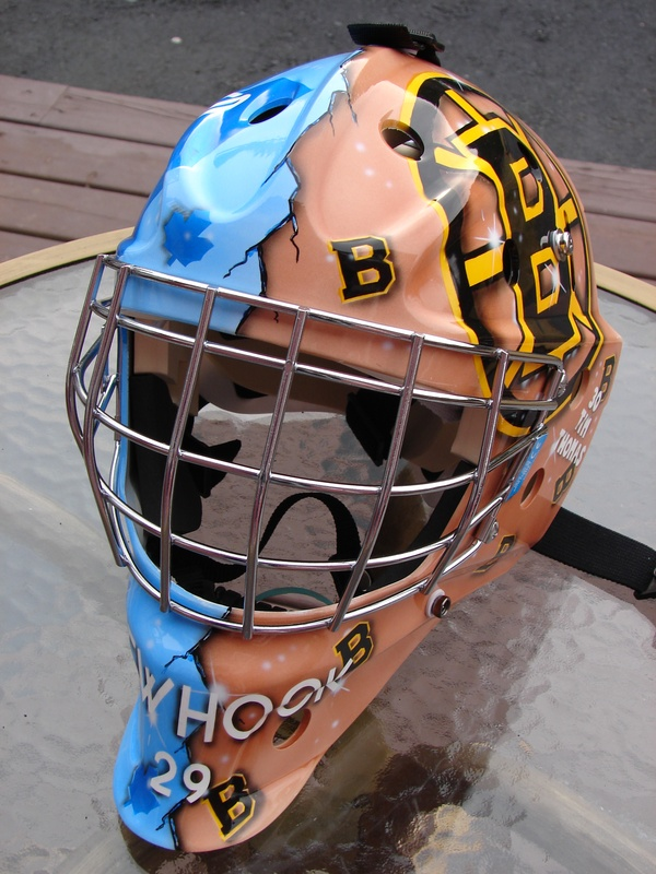 Ben Newhook's mask