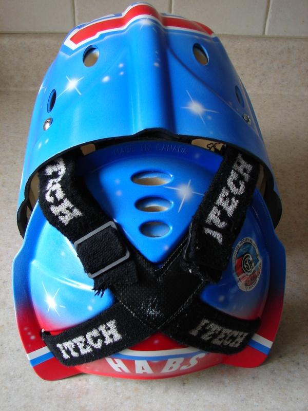 Geoffrey Collins's helmet